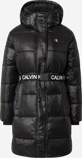 Calvin Klein Jeans Manteau d'hiver en noir / blanc, Vue avec produit