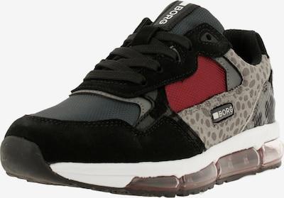 BJÖRN BORG Sneaker in grau / schwarz, Produktansicht