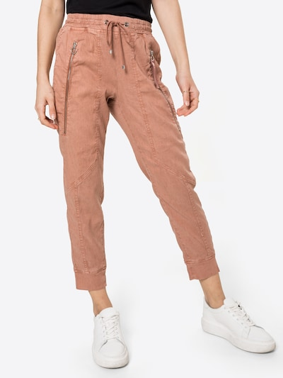 MAC Trousers 'FUTURE' in Brown, View model