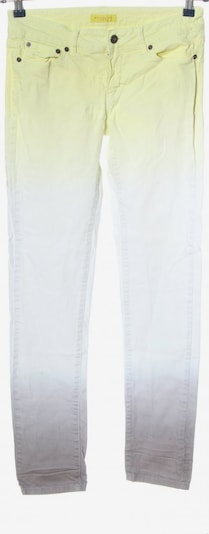 Witty Knitters Slim Jeans in 27-28 in pastellgelb / lila / weiß, Produktansicht