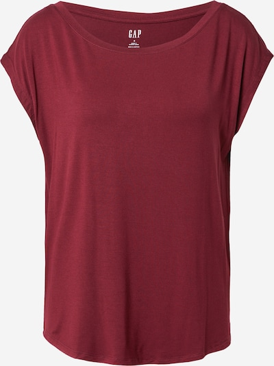 GAP T-shirt 'LUXE' en lie de vin, Vue avec produit