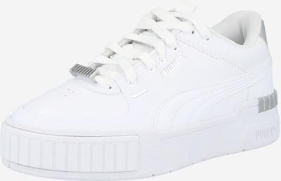 PUMA Baskets basses 'Cali' en gris / blanc, Vue avec produit