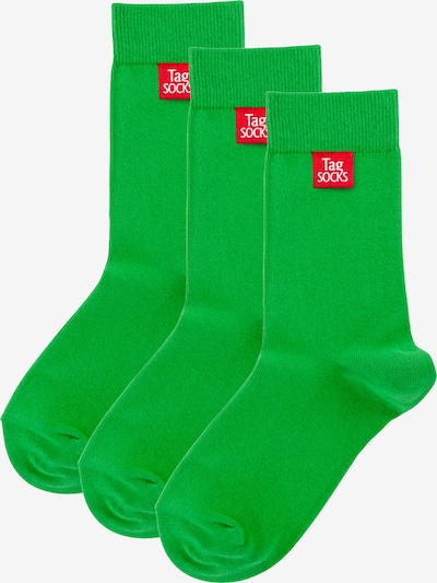 Tag SOCKS Socken in grasgrün, Produktansicht