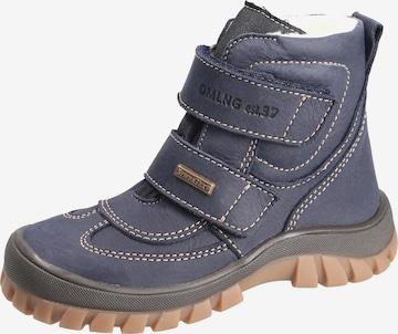 Däumling Boots in Blau