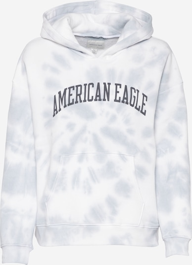 American Eagle Sweatshirt in graphit / hellgrau / weiß, Produktansicht
