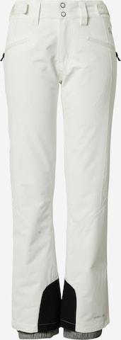 PROTEST Spodnie outdoor 'KENSINGTON' w kolorze biały