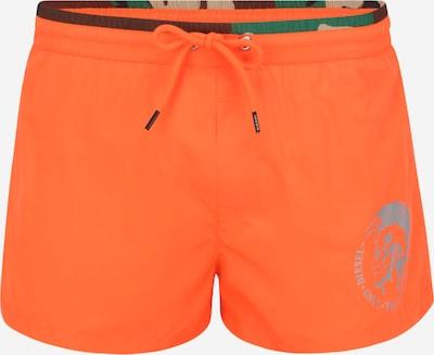 DIESEL Plavecké šortky - šedá / oranžová, Produkt