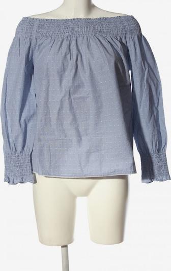 Sfera Langarm-Bluse in L in blau / weiß, Produktansicht