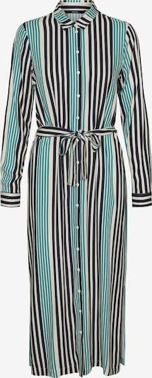 Vero Moda Tall Robe-chemise 'Niva' en bleu marine / gris / noir, Vue avec produit