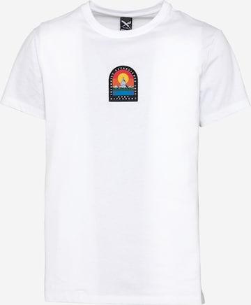 Iriedaily T-Shirt 'Stonefinger' in Weiß