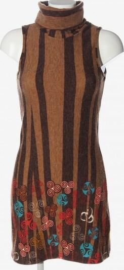 Lavand Minikleid in S in türkis / bronze / rot, Produktansicht