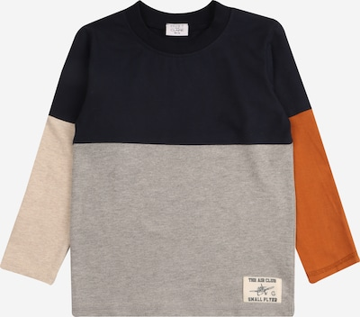 Hust & Claire Shirt 'Alex' in kitt / navy / orange, Produktansicht