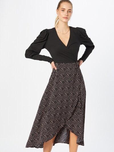 AX Paris Jurk in de kleur Zwart / Wit, Modelweergave