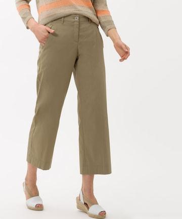 BRAX Chino Pants 'Maine' in Green