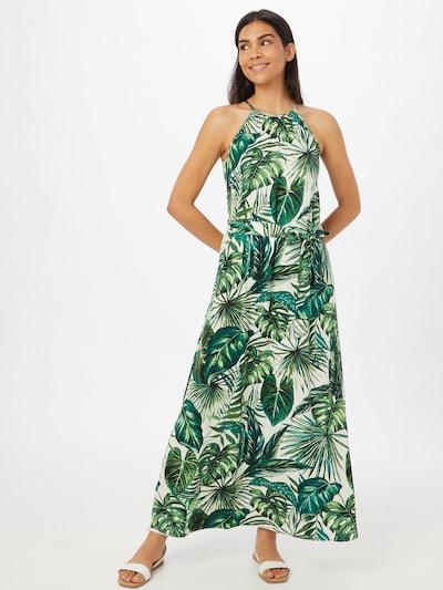 ONLY Kleid 'ALMA' in jade / hellgrün / dunkelgrün / weiß, Modelansicht