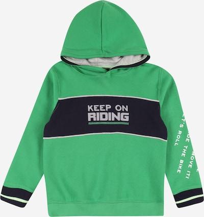 BLUE SEVEN Sweatshirt i grå / grön / svart / vit, Produktvy