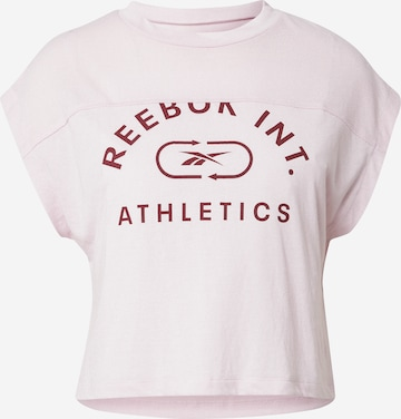 Reebok Sport Funksjonsskjorte i rosa