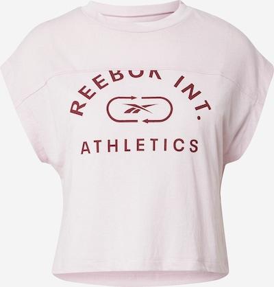 Reebok Sport Funktionsshirt in rosa / weinrot, Produktansicht