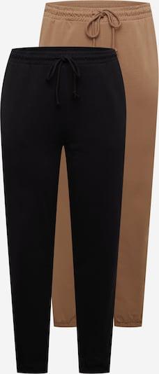 Vero Moda Curve Hose 'OCTAVIA' in hellbraun / schwarz, Produktansicht