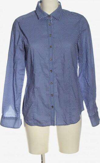 ETERNA Langarmhemd in L in blau / weiß, Produktansicht