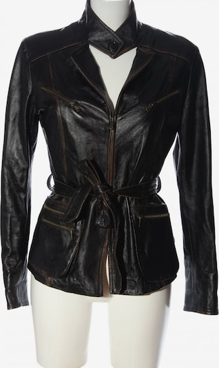 Vera Pelle Kunstlederjacke in M in schwarz, Produktansicht