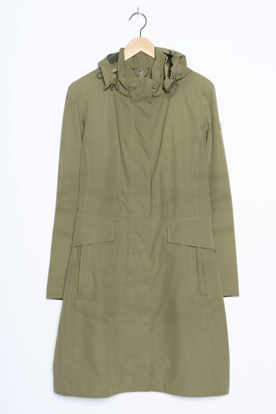 THE NORTH FACE Trenchcoat in M in oliv, Produktansicht