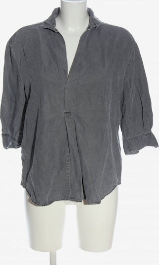 ZARA Schlupf-Bluse in S in hellgrau, Produktansicht