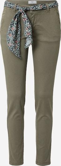 Le Temps Des Cerises Pantalon chino 'LIDY' en vert foncé, Vue avec produit