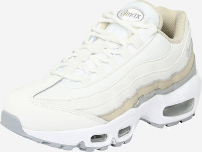 Nike Sportswear Niske tenisice 'Air Max 95' u bež / srebro / bijela, Pregled proizvoda