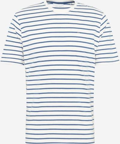 Casual Friday T-Shirt 'Troels' en bleu marine / blanc, Vue avec produit