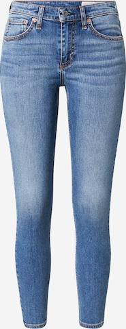 rag & bone Teksapüksid, värv sinine