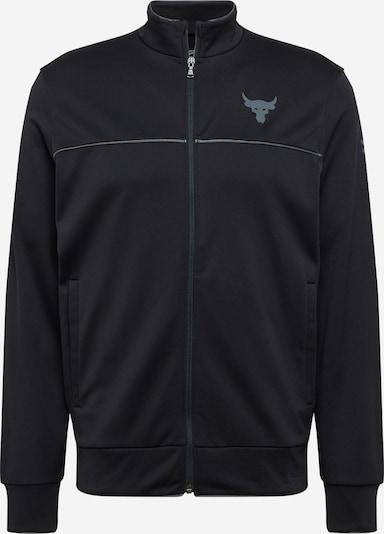UNDER ARMOUR Sportovní bunda - tmavě šedá / černá, Produkt