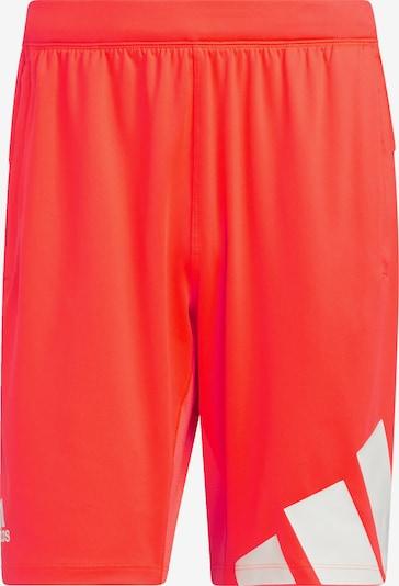 ADIDAS PERFORMANCE Športové nohavice - červená / biela, Produkt