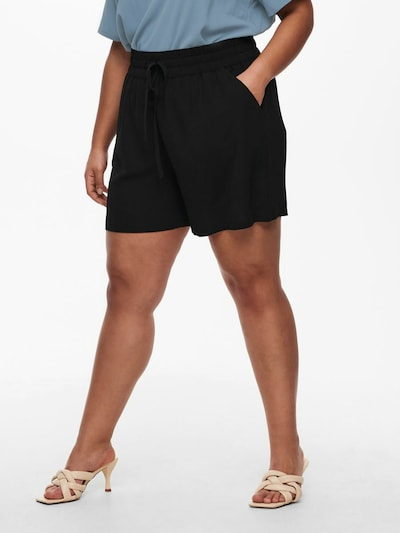 ONLY Carmakoma Broek in de kleur Zwart, Modelweergave