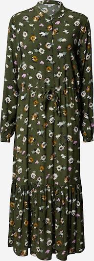 mbym Kleid 'Ellinor' in dunkelblau / dunkelgrün / orange / pink / weiß, Produktansicht