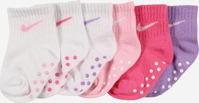 NIKE Socken in lila / rosa / dunkelpink / weiß, Produktansicht