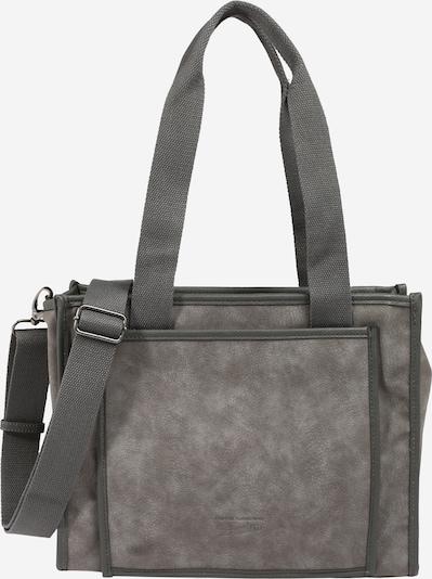 TOM TAILOR DENIM Shopper torba 'LETICIA' u tamo siva, Pregled proizvoda
