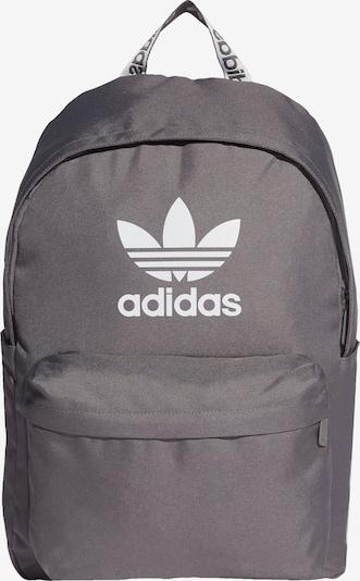 ADIDAS ORIGINALS Rucksack in grau / weiß, Produktansicht