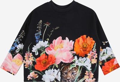 Molo Sweat-shirt 'Marin' en bleu foncé / émeraude / rose / rouge orangé / blanc, Vue avec produit