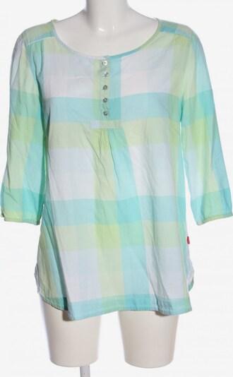Jackpot Schlupf-Bluse in S in türkis / pastellgelb / weiß, Produktansicht