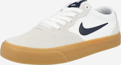 Nike SB Sneakers laag 'CHRON SLR' in de kleur Lichtgrijs / Wit, Productweergave