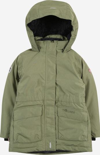 TROLLKIDS Zunanja jakna 'Alesund' | oliva barva, Prikaz izdelka