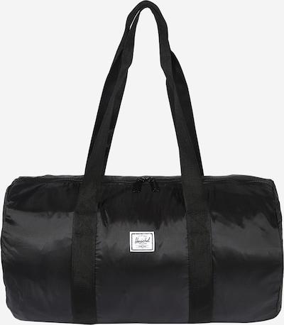 Herschel Sac de voyage 'Packable' en noir, Vue avec produit