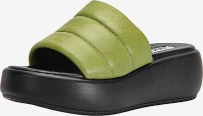 INUOVO Pantolette in grün, Produktansicht