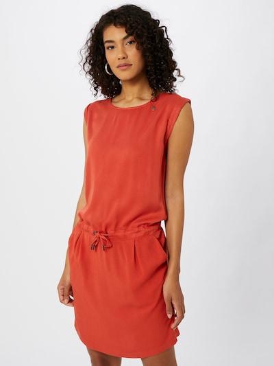 Ragwear Robe d'été 'Mascarpone' en rouge chiné, Vue avec modèle