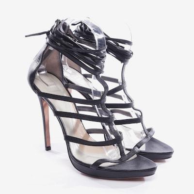 Hervé Léger Sandaletten in 39 in schwarz, Produktansicht