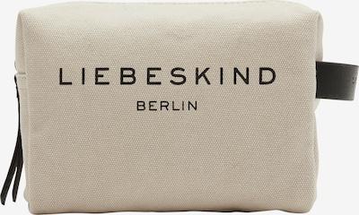 Liebeskind Berlin Kozmetična torbica | kit / črna barva, Prikaz izdelka