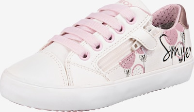 GEOX Sneakers 'GISLI' in rosé / weiß, Produktansicht