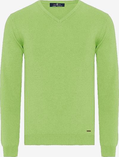 Jimmy Sanders Pullover in grün, Produktansicht