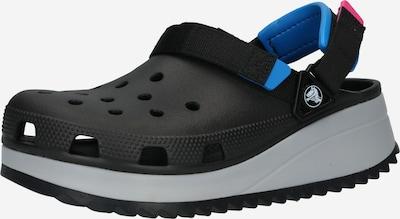Crocs Clogs 'Hiker' in blau / grau / pink / schwarz, Produktansicht
